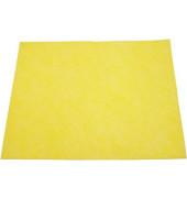 Allzwecktuch Thermovlies gelb 38 x 38 cm 10 Stück