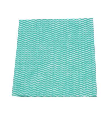 Reinigungstücher Wischfix perfo grün Viskose 50 x 38 cm 50 Stück