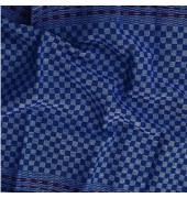 Gruben-Handtuch 554499 kariert blau/weiß 45 x 90 cm 10 Stück