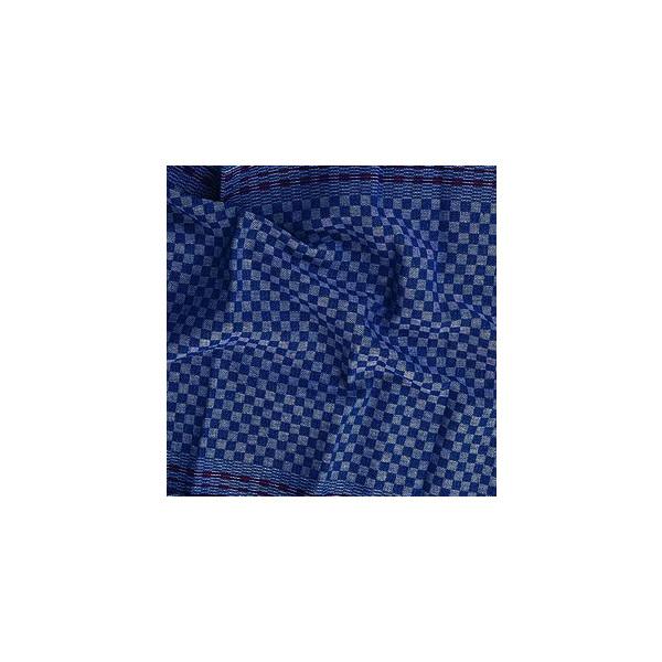 Meiko Gruben-Handtuch 554499 kariert blau/weiß 45 x 90 cm 10 Stück