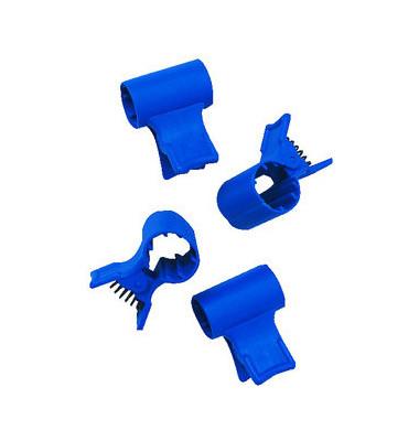 Fixierung für Abfallsäcke blau