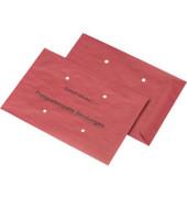 Freistempler B4 ohne Fenster nassklebend 4 Löcher 90g rot 500 Stück 026367