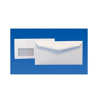 Kuvertierhülle kompakt m.Fe.,n.kl. 80g weiß 1000 Stück