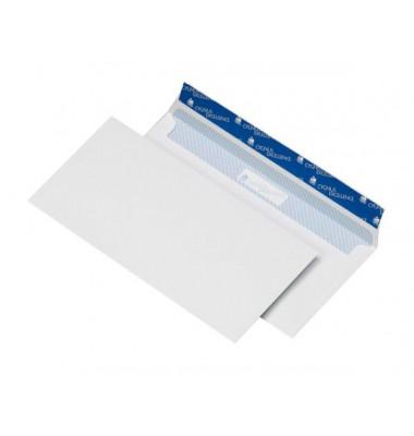 Briefumschläge Din Lang+ ohne Fenster haftklebend 100g weiß 114x229mm 500 Stück