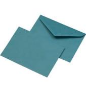Briefumschläge C6 ohne Fenster nassklebend 75g blau 1000 Stück Recycling