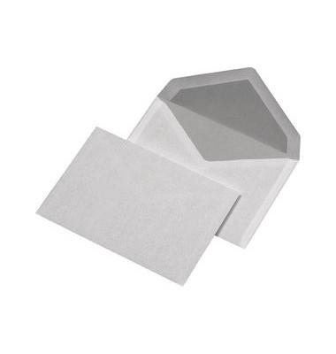 Briefumschläge C6 ohne Fenster nassklebend 75g weiß 1000 Stück