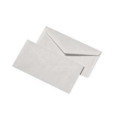 Briefumschläge Din Lang ohne Fenster nassklebend 75g weiß 1000 Stück