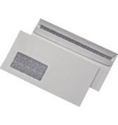 Briefumschläge blickdicht Din Lang mit Fenster selbstklebend 75g weiß 1000 Stück