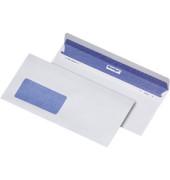 Briefumschläge Revelope 225x112mm mit Fenster haftklebend 80g weiß 500 Stück