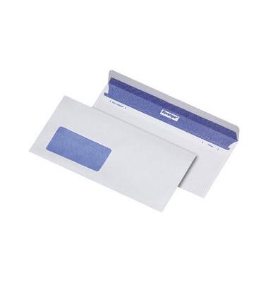 Briefumschläge Revelope C6/5 mit Fenster haftklebend 80g weiß 500 Stück