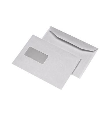Kuvertierhüllen C5 m.Fe.,n.kl.80g weiß 500 Stück