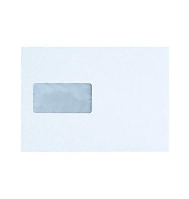 Briefumschläge C5 mit Fenster haftklebend 100g weiß 500 Stück