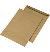 Versandtaschen E4 ohne Fenster nassklebend 130g braun 250 Stück