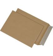 Versandtaschen B5 ohne Fenster haftklebend 90g braun 500 Stück