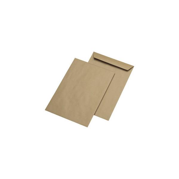 mailmedia versandtaschen b4 ohne fenster nassklebend 130g braun 250 st ck. Black Bedroom Furniture Sets. Home Design Ideas
