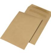Versandtaschen B4 ohne Fenster selbstklebend 90g braun 50 Stück