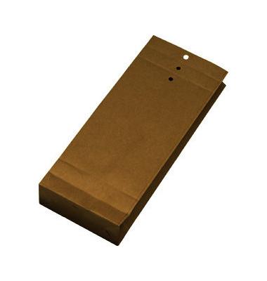 Musterbeutel geri./gelo.120g braun 140x305x50mm 250 St