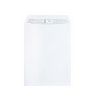 Versandtaschen C4 ohne Fenster haftklebend 100g weiß 250 Stück