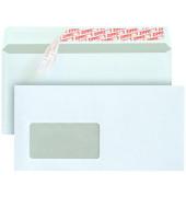 Briefumschläge Din Lang+ mit Fenster haftklebend 80g weiß 500 Stück