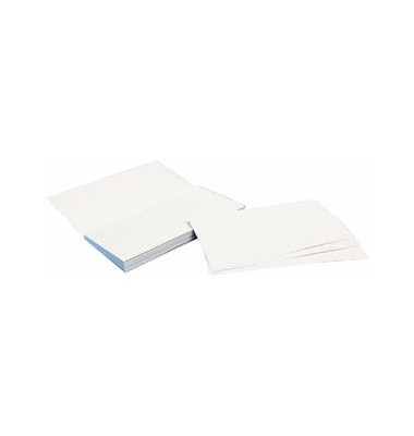 Briefumschläge Din Lang ohne Fenster haftklebend 80g weiß 25 Stück Abreißblock