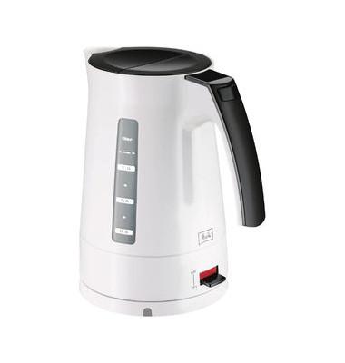Wasserkocher EnjoyAqua weiß schwarz 2400 W 1,7 L