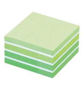 Haftnotizwürfel 76 x 76mm pastellgrün 450 Blatt