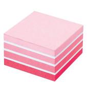 Haftnotizwürfel 76 x 76mm pastellpink 450 Blatt