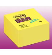 Haftnotizwürfel Super Sticky 76 x 76mm narzissengelb 350 Blatt