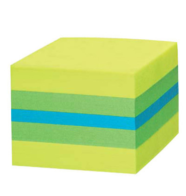 2051 L Mini Würfel Haftnotizen limone 400 Blatt
