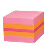 2051 P Mini Würfel  Haftnotizen pink 400 Blatt