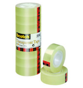 Klebeband 550 19mm x 33m transparent 8 Rollen