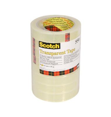 Scotch klebeband 550 19mm x 66m transparent for Schreibtisch 1m lang