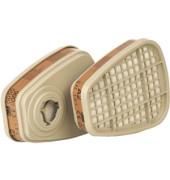 Atemschutzfilter 6055, gegen organische Gase und Dämpfe, A2 (2 stk)