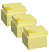 Haftnotizen 51 x 38mm gelb 12 x 100 Blatt