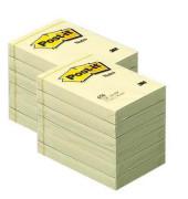 Haftnotizen 51 x 76mm gelb 100 Blatt