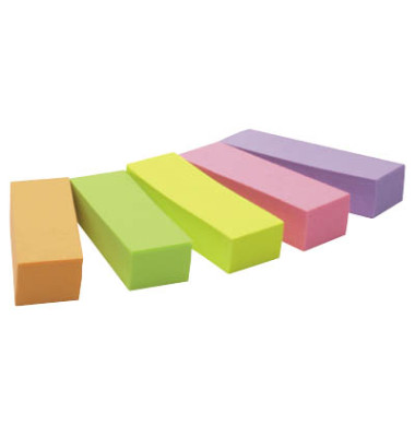 Index Haftstreifen Pagemarker Haftnotiz-Signale 5-farbig 15 x 50mm 5x100Bl.