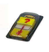 Haftstreifen mit Fragezeichen 25,4 x43,2mm 50 St