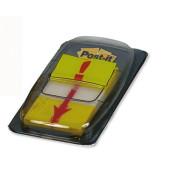 Index Haftstreifen 680 Symbol Ausrufezeichen 25,4 x 43,2mm gelb 50 Blatt