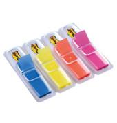 Index Haftstreifen Spender Leuchtfarben sortiert bl/ge/or/pi 4x35 St