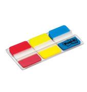 Index Haftstreifen rot/gelb/blau strong je 22 Stück
