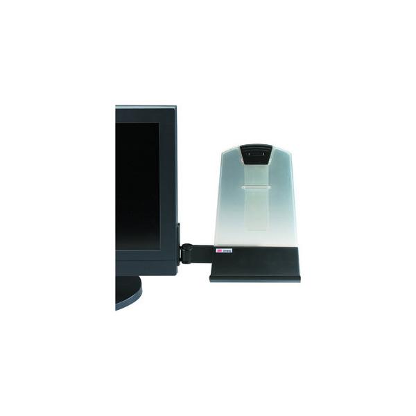 3m konzepthalter f r flachbildschirme schwarz h lt bis 30 for Schreibtisch 3m