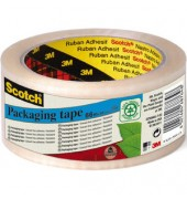 Packband A greener Choice 50mm x 66m transparent Recycling PP