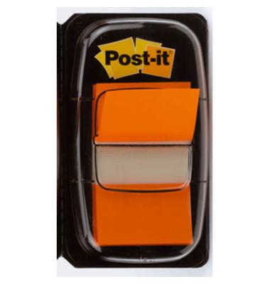Index Haftstreifen 680-4 orange 25,4 x43,2mm 50 Stück