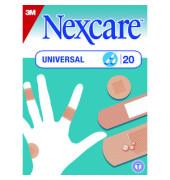 Nexcare Pflaster Universal braun 3 Größen 20 Stück