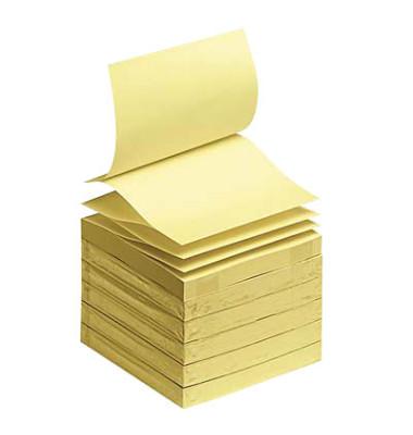 Haftnotizen Z-Notes 76 x 76mm gelb 100 Blatt