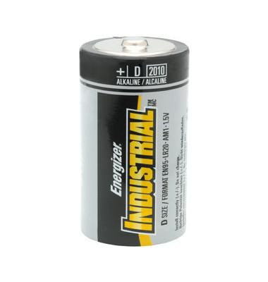 Batterie Industrial Mono / LR20 / D 12 Stück