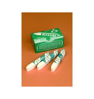 Tafelkreide weiß eckig 13x13x90mm 12 Stück