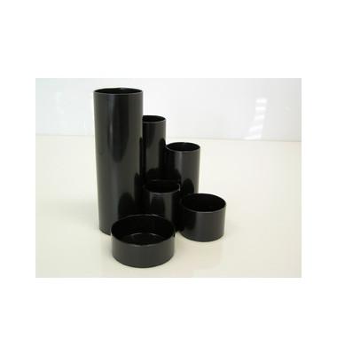 Schreibtischboy mit 6 Röhren schwarz