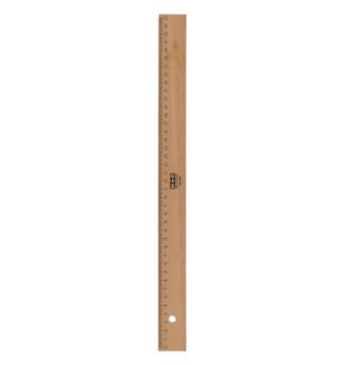Holz-Lineal 719400000 braun 40cm mit Tuschekante