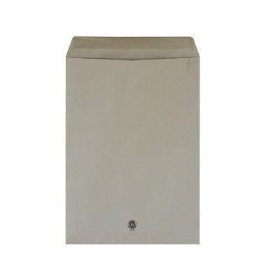 Versandtaschen C4 mit Fenster selbstklebend 100g grau 250 Stück Recycling